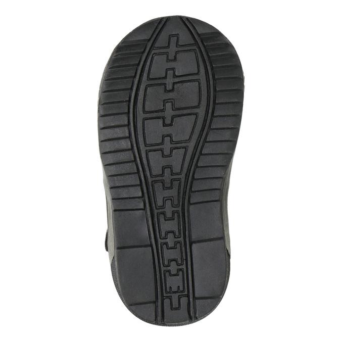 Dětská kotníčková obuv bubblegummer, černá, 111-6610 - 26