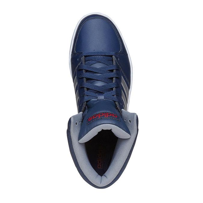 Pánské kotníčkové tenisky adidas, modrá, 801-9240 - 19