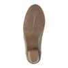 Kožená kotníčková obuv bata, žlutá, 626-8102 - 26