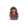 Kožené polobotky v ležérním stylu bata, hnědá, 824-4620 - 17