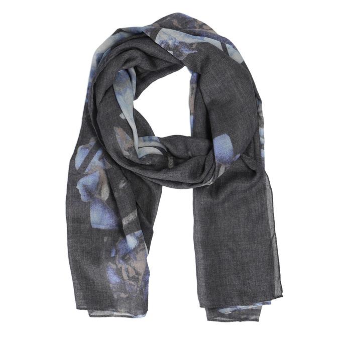 Šedý šátek s potiskem bata, šedá, 909-9200 - 13
