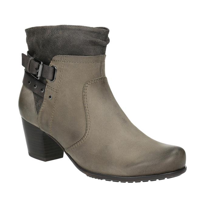 Dámská kotníčková obuv bata, šedá, 696-2617 - 13