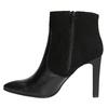 Dámská kotníčková obuv classico-and-bellezza, černá, 713-6006 - 26