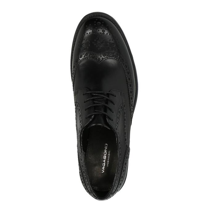 Dámské polobotky v Derby stylu vagabond, černá, 524-6001 - 19