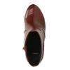 Kotníčková obuv na širokém podpatku bata, hnědá, 791-4611 - 19