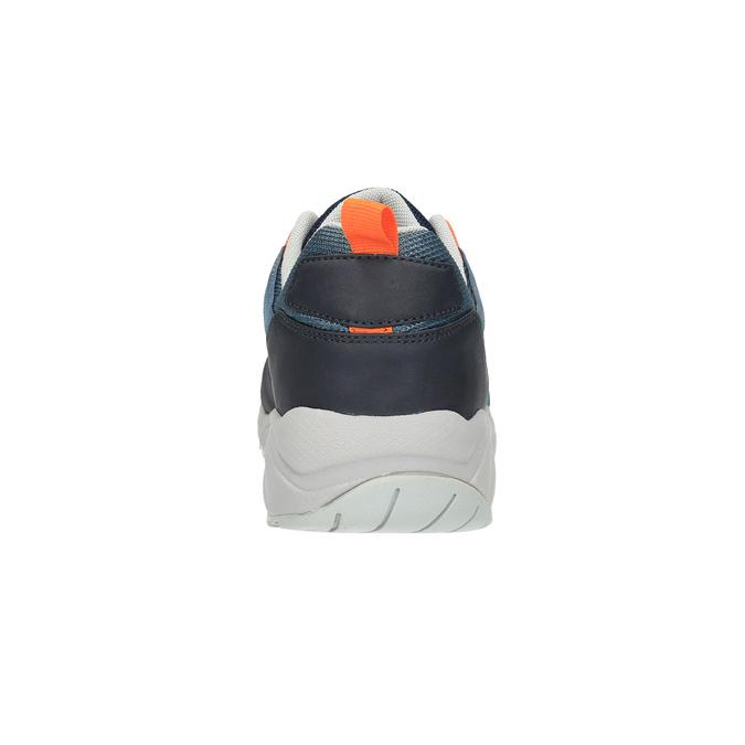 Pánské tenisky na výrazné podešvi bata, modrá, 841-9601 - 17