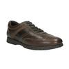 Ležérní kožené polobotky bata, hnědá, 826-4652 - 13