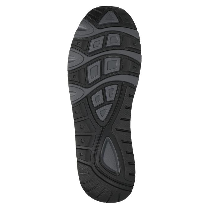 Pánské tenisky na výrazné podešvi bata, šedá, 841-2602 - 26