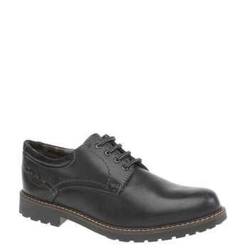 Kožené polobotky bata, černá, 824-6134 - 13