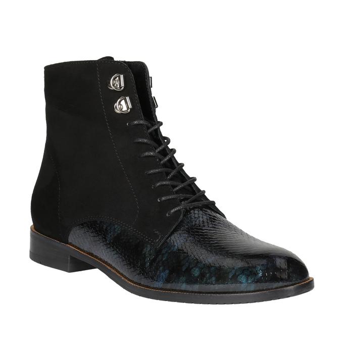 Dámská kotníčková obuv classico-and-bellezza, černá, 523-6003 - 13