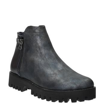 Dámská kotníčková obuv bata, modrá, 591-2615 - 13