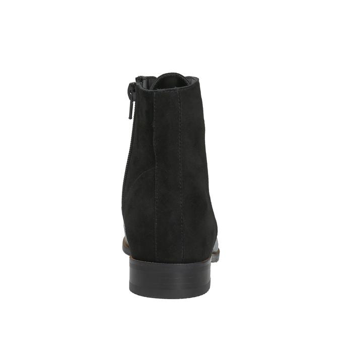 Dámská kotníčková obuv classico-and-bellezza, černá, 523-6003 - 17