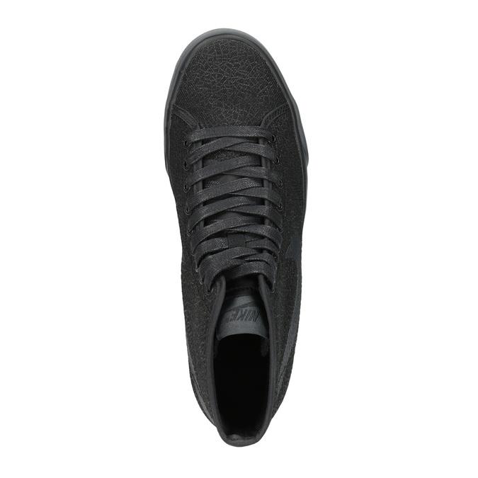 Černé kotníčkové tenisky nike, černá, 501-6342 - 19