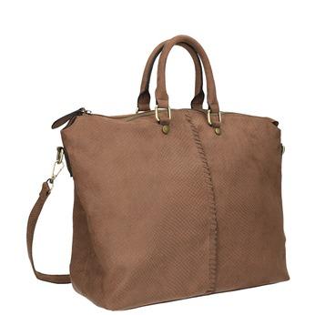 Hnědá dámská kabelka bata, hnědá, 969-3622 - 13