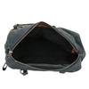 Kabelka z broušené kůže bata, šedá, 966-2202 - 15