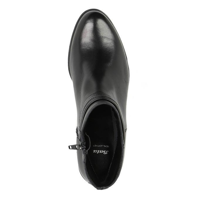 Dámská kotníčková obuv bata, černá, 594-6614 - 19