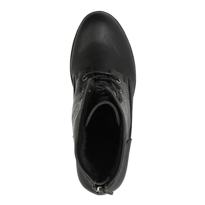 Dámská kotníčková obuv bata, černá, 591-6609 - 19