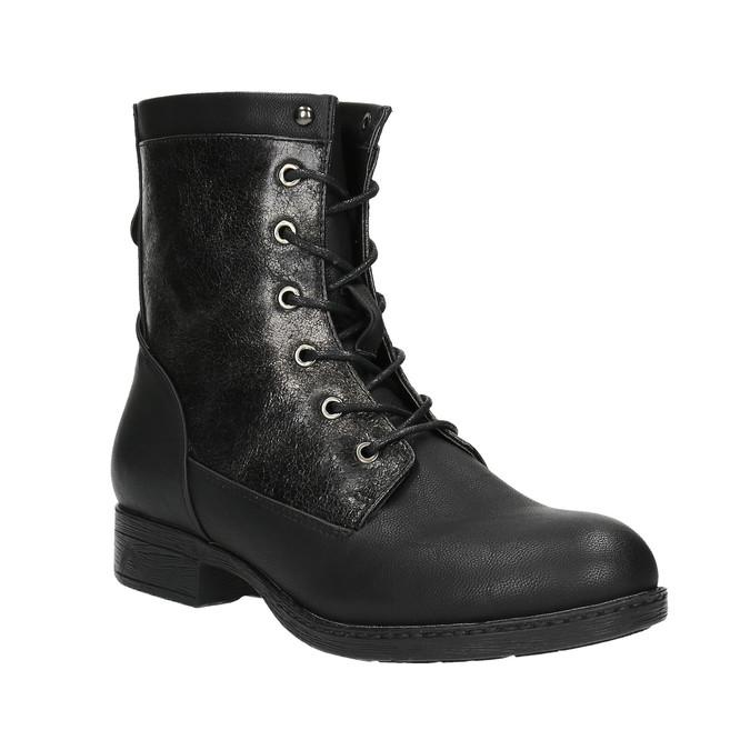 Dámská kotníčková obuv bata, černá, 591-6609 - 13