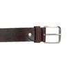 Hnědý kožený opasek bata, hnědá, 954-3106 - 26