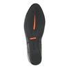 Kožená kotníčková obuv na klínovém podpatku rockport, černá, 614-6003 - 26