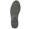 Kožená kotníčková obuv ve Wester stylu bata, hnědá, 594-4611 - 19