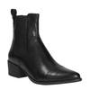 Kožená kotníková obuv ve stylu Chelsea vagabond, černá, 614-6001 - 13