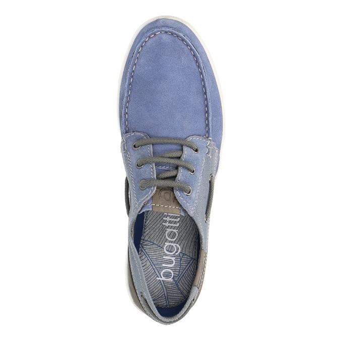 Pánské sportovní mokasíny bugatti, modrá, 823-9012 - 19
