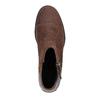 Kožená kotníčková obuv sorel, hnědá, 513-4002 - 19