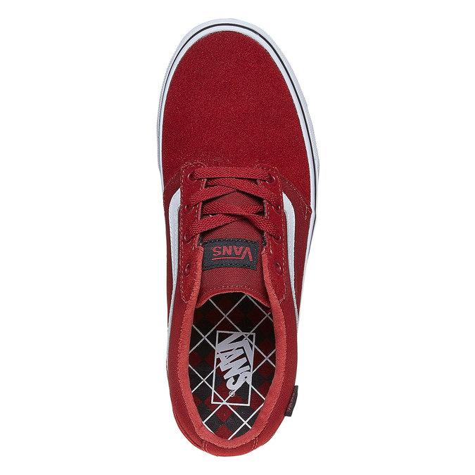 Pánské kožené tenisky vans, červená, 803-5303 - 19