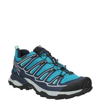 Dámská obuv v Outdoor stylu salomon, tyrkysová, 649-7052 - 13