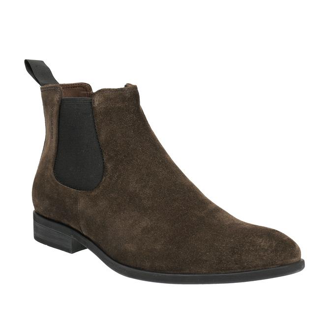 Chelsea Boots z broušené kůže vagabond, hnědá, 893-4028 - 13