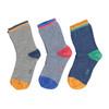 Dětské barevné ponožky 3 páry bata, 919-0592 - 26