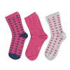 Dětské barevné ponožky 3 páry bata, 919-0490 - 26