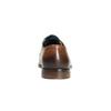Pánské kožené polobotky bata, hnědá, 826-3643 - 17