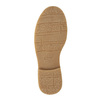 Dětská šněrovací obuv s kamínky mini-b, hnědá, 391-3262 - 26