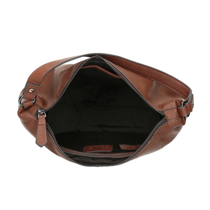 Kožená Hobo kabelka bata, hnědá, 964-4233 - 15