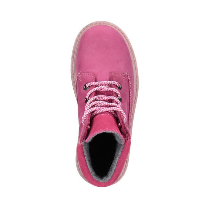 Kožená zimní obuv růžová richter, růžová, 296-5003 - 19