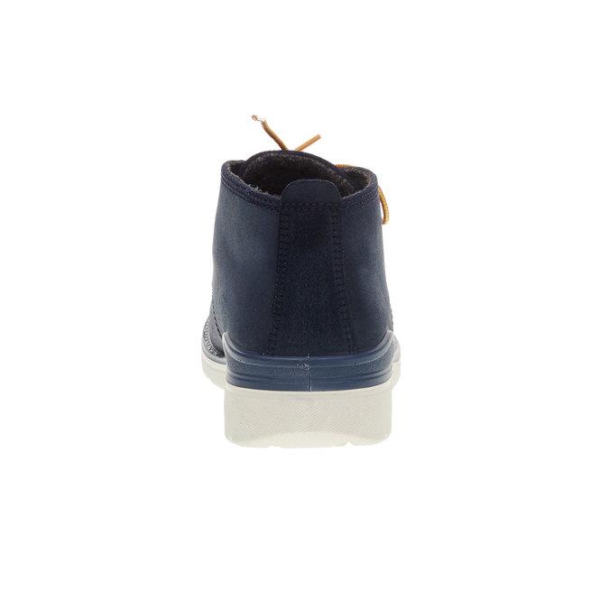 Kotníčková obuv ecco, modrá, 493-9002 - 17