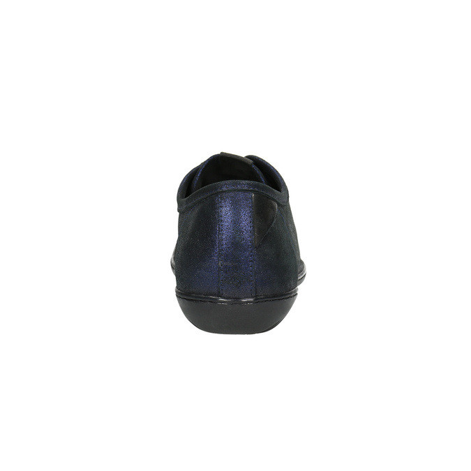 Ležérní kožené polobotky tbs-, modrá, 526-9061 - 17