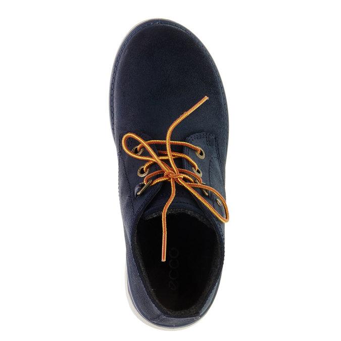 Kotníčková obuv ecco, modrá, 493-9002 - 19