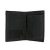 Sada pánské peněženky a opasku wildskin, černá, 966-6028 - 16