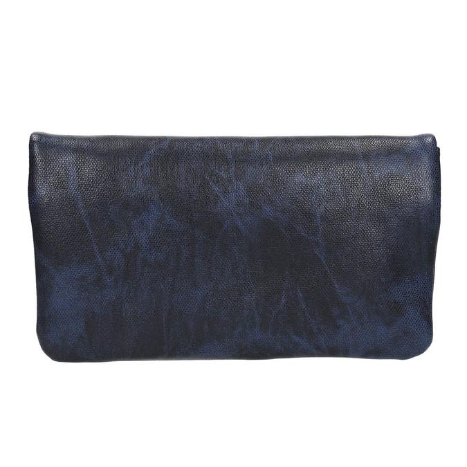Dámské psaníčko s páskem na zápěstí bata, modrá, 961-9668 - 19
