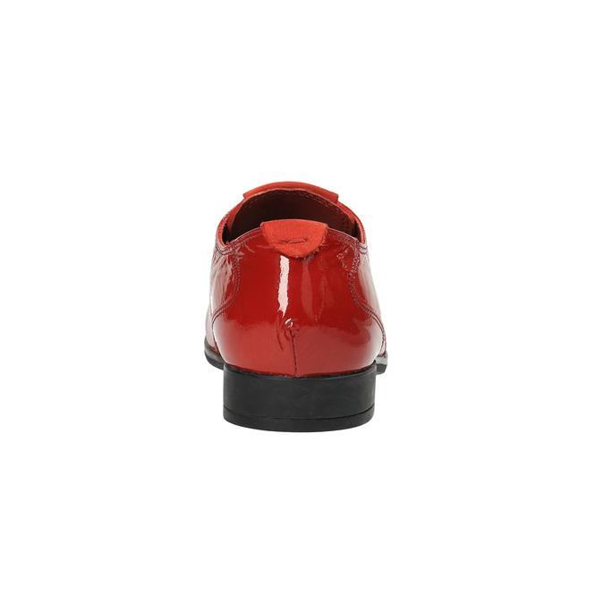 Červené kožené polobotky tbs-, červená, 528-5063 - 17