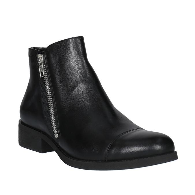 Dámská kotníčková obuv vagabond, černá, 514-6001 - 13