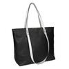 Dámská kabelka s dvojitými uchy bata, černá, 961-6625 - 13