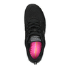 Dámské sportovní tenisky černé skechers, černá, 509-6352 - 19