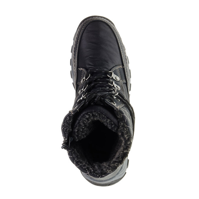 Dámské zimní boty bata, černá, 599-6108 - 19