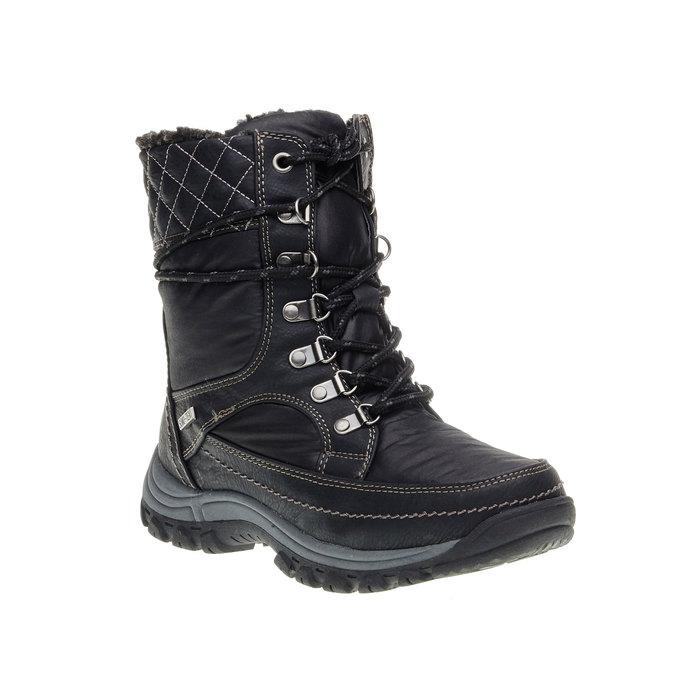 Dámské zimní boty bata, černá, 599-6108 - 13