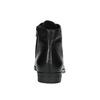 Kožená kotníčková obuv šněrovací vagabond, černá, 524-6006 - 17