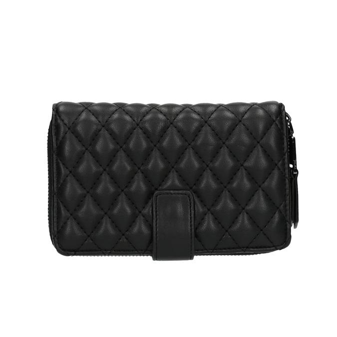 Dámská prošíváná peněženka bata, černá, 941-6135 - 26